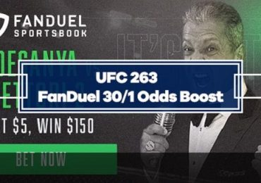 FanDuel UFC 263 Special Boost - 30/1 odds on Adesanya or Vettori to Win