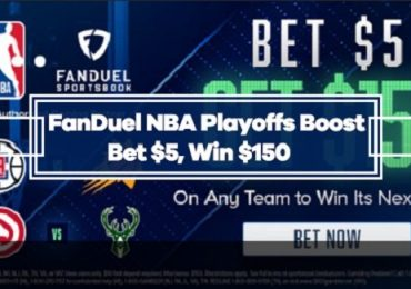 FanDuel NBA Playoffs 30/1 Odds Boost on any Playoff team to win next Game