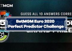 BetMGM Euro 2020 $25K Perfect Predictor Challenge
