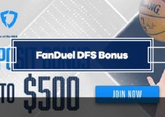 FanDuel Fantasy Bonus – 20% Deposit Match up to $500