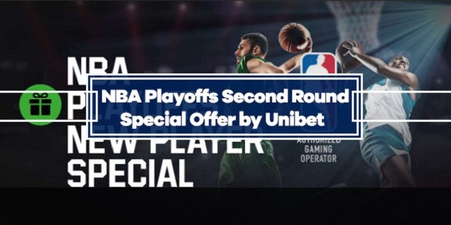 Unibet NBA Playoffs Second Round Offer - Win $10 for every 3-pointer