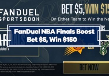 FanDuel NBA Finals 30/1 Odds Boost on Bucks or Suns to Win Next Game
