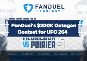 FanDuel Fantasy - Free Entry into UFC 264 Contest with $200K in Prizes