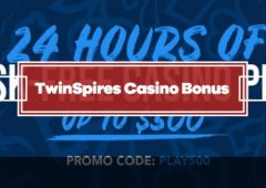 TwinSpires Casino Bonus – Risk Free Play Up To $500 + 250 Free Spins