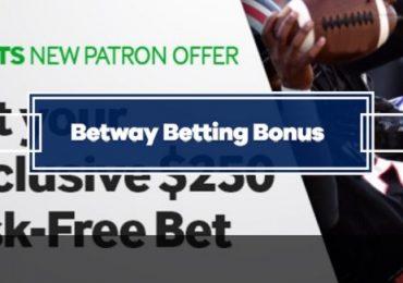 Betway Betting Bonus - $250 Risk-Free Bet